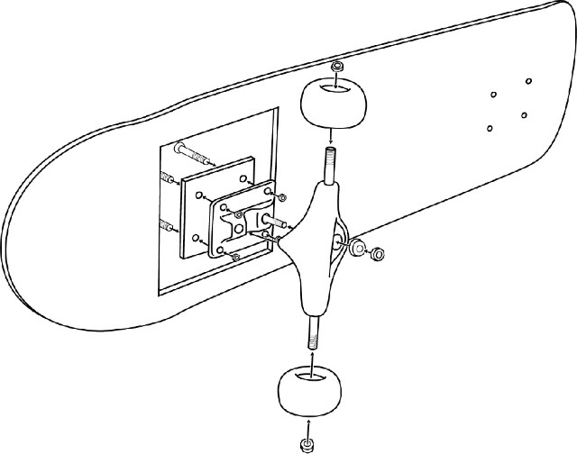 Diagram Of A Skateboard Wiring Diagram Services